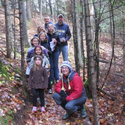 Families Find Fun Geocaching at the Sturgeon River Preserve!