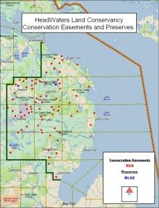 HWLC Conservation Easement Map