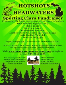 Clay Shoot 2015 Flyer