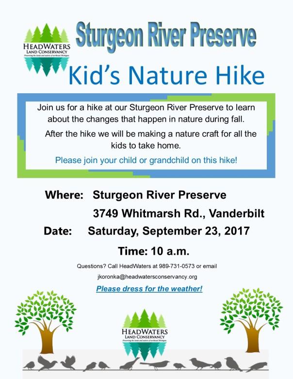 SRP Kids Nature Hike 2017