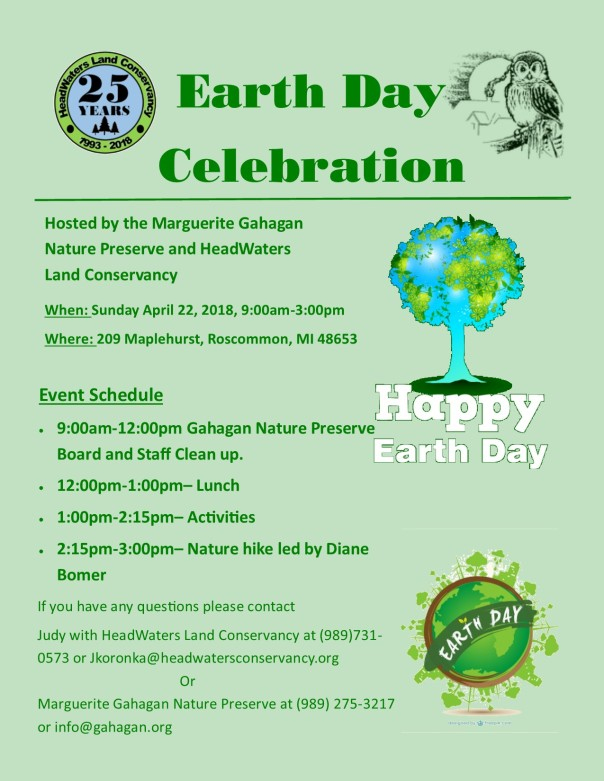 Earth Day 2018 Flyer