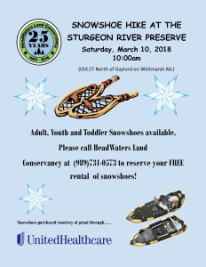 Snowshoe at SRP 03102018