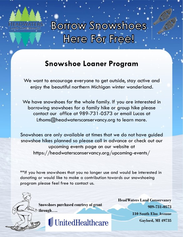 Snowshoe loaner program